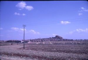 Syrian village between Aleppo and the Turkish Border, 8 June 1962